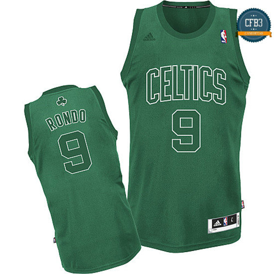 cfb3 camisetas Rajon Rondo, Boston Celtics [Big Color Fashion]
