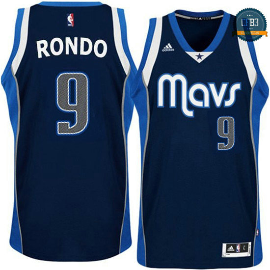cfb3 camisetas Rajon Rondo, Dallas Mavericks - Azul