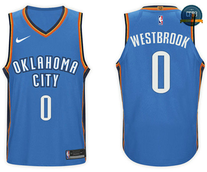 cfb3 camisetas Russell Westbrook, Oklahoma City Thunder - Icon