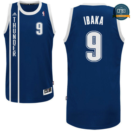 cfb3 camisetas Serge Ibaka, OKC [Alternate]