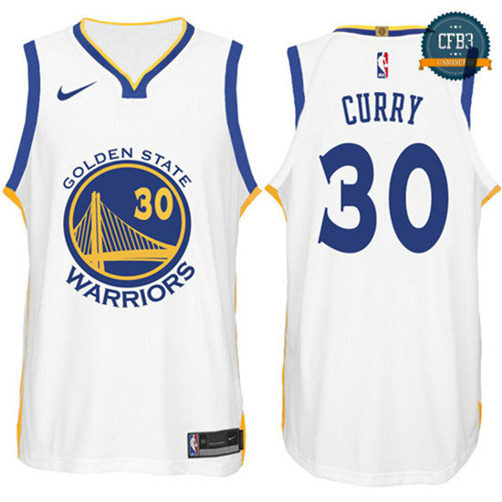 cfb3 camisetas Stephen Curry, Golden State Warriors - Association