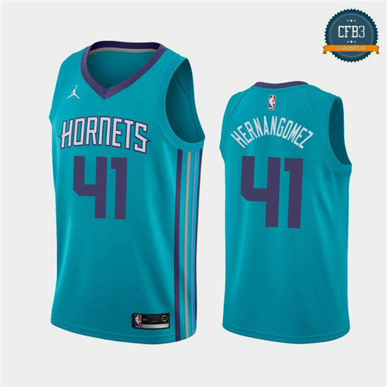 cfb3 camisetas Willy Hernangómez, Charlotte Hornets - Icon Edition