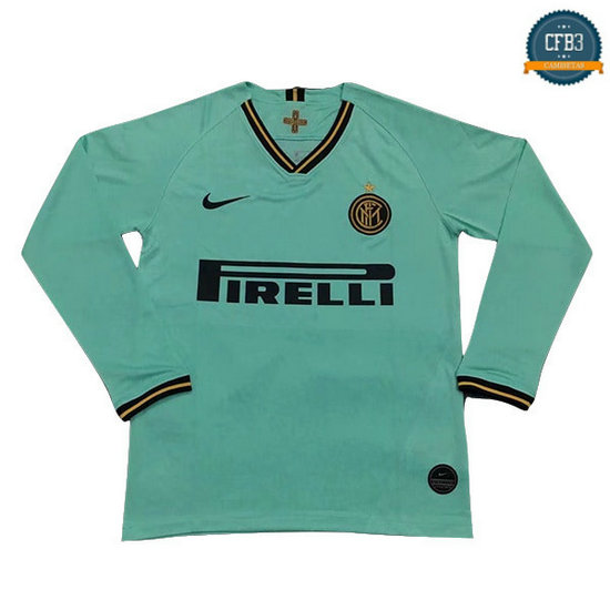 Camiseta Inter Milan 2ª Manga Larga 2019/2020