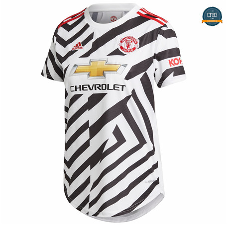 Cfb3 Camiseta Manchester United Mujer 3ª Equipación 2020/2021