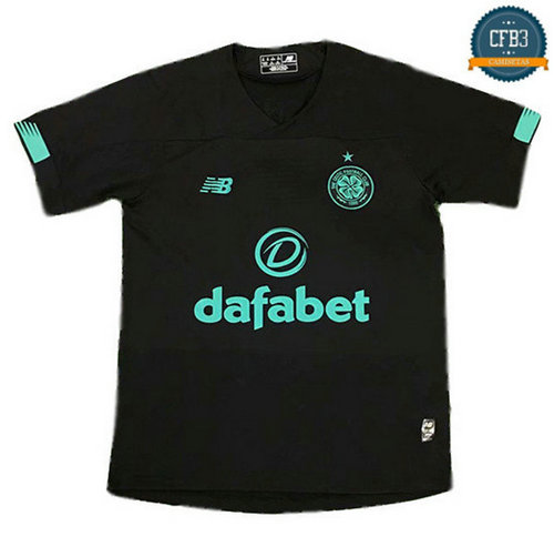 Cfb3 Camisetas Celtic goalkeeping Negro 2019/2020