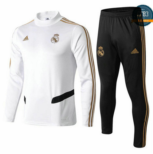 Chándal Real Madrid Blanco Cuello alto 2019/2020