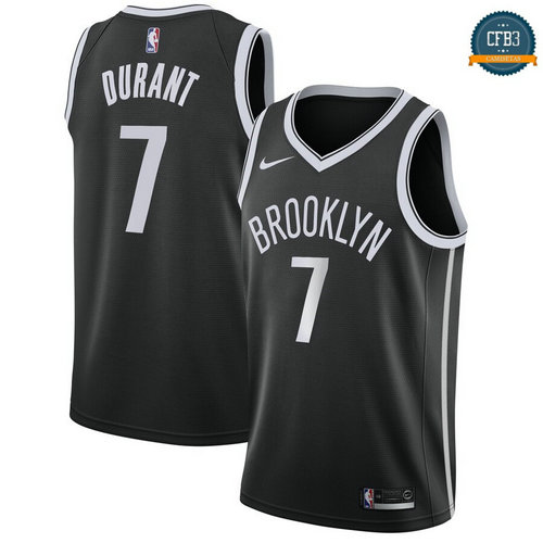 Cfb3 Camisetas Brooklyn Nets>Kevin Durant, Brooklyn Nets 2018/19 - Icon