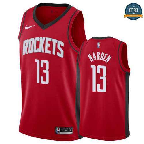 Cfb3 Camisetas James Harden, Houston Rockets 2019/20 - Icon