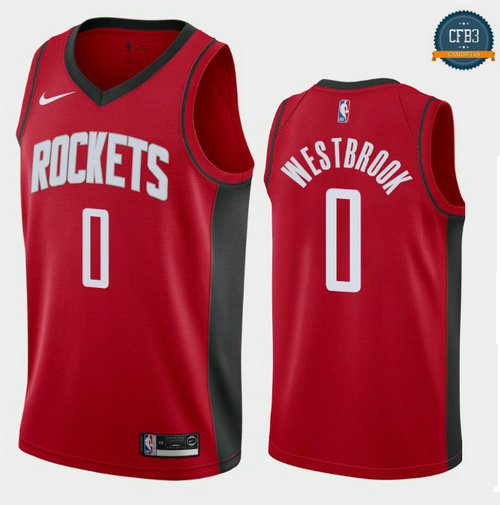 Cfb3 Camisetas Russell Westbrook, Houston Rockets 2019/20 - Icon