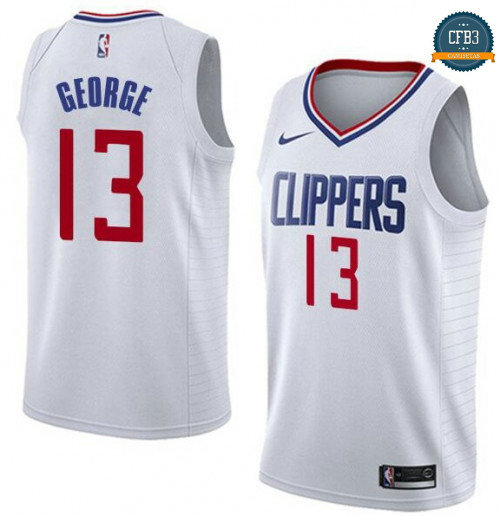 Cfb3 Camisetas Paul George, Los Angeles Clippers - Association