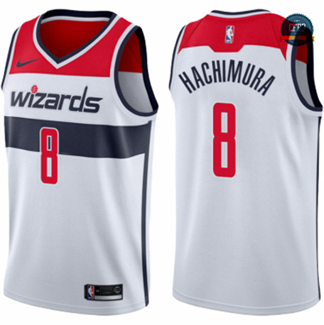 Cfb3 Camisetas Rui Hachimura, Washington Wizards 2019/20 - Association