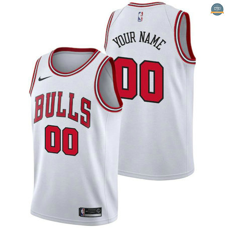 Cfb3 Camiseta Custom, Chicago Bulls - Association