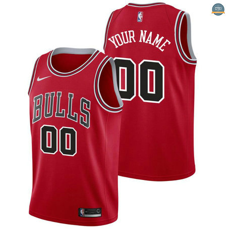 Cfb3 Camisetas Custom, Chicago Bulls - Icon