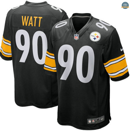 Cfb3 Camiseta T.J. Watt, Pittsburgh Steelers - Negro