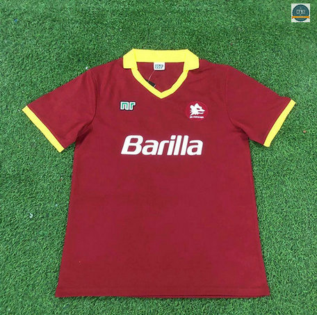 Cfb3 Camiseta Retro 1989-90 AS Roma 1ª Equipación