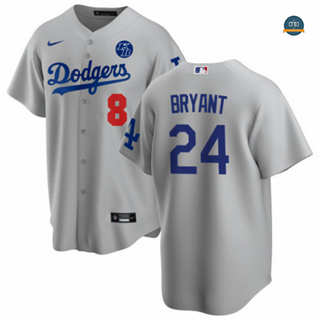Cfb3 Camisetas Kobe Bryant, Los Angeles Dodgers - Tribute