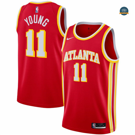 Cfb5 Camisetas Trae Young, Atlanta Hawks 2020/2021/21 - Icon
