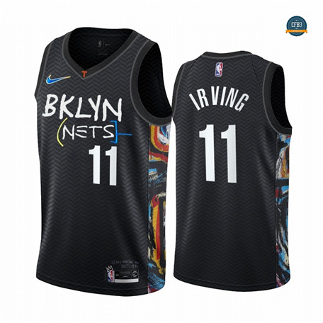 Cfb8 Camiseta Kyrie Irving, Brooklyn Nets 2020/2021/21 - City Edition