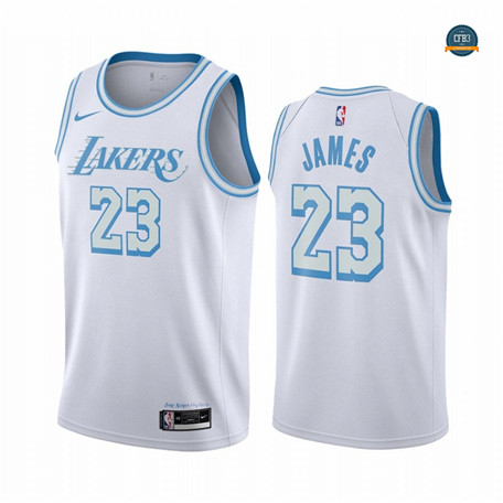 Cfb13 Camiseta LeBron James, Los Angeles Lakers 2020/2021/21 - City Edition