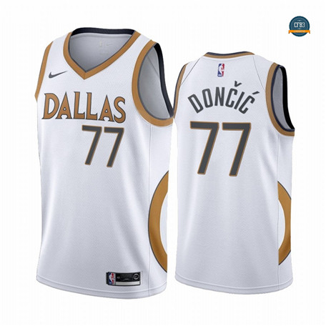 Cfb14 Camiseta Luka Doncic, Dallas Mavericks 2020/2021/21 - City Edition
