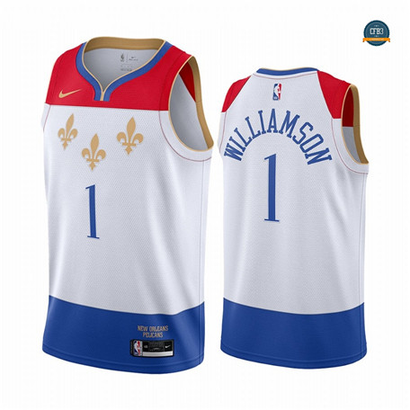 Cfb18 Camisetas Zion Williamson, New Orleans Pelicans 2020/2021/21 - City Edition