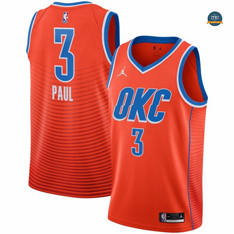 Cfb18 Camiseta Chris Paul, Oklahoma City Thunder 2019/20 - Statement