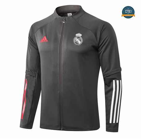 Cfb3 Chaqueta Real Madrid Gris oscuro 2020/2021