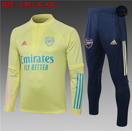 Cfb3 Chandal Niños Arsenal Amarillo 2020/2021