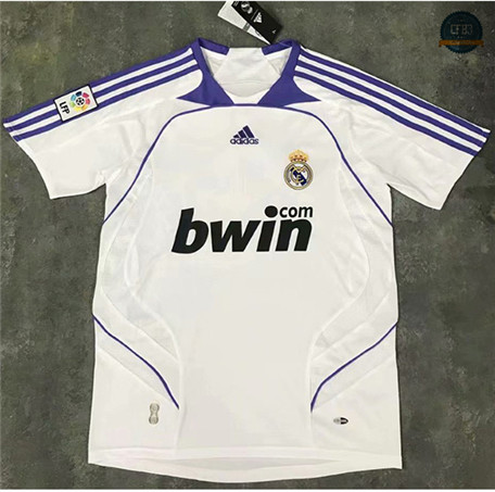 Cfb3 Camiseta Retro 2007-08 Real Madrid 1ª Equipación