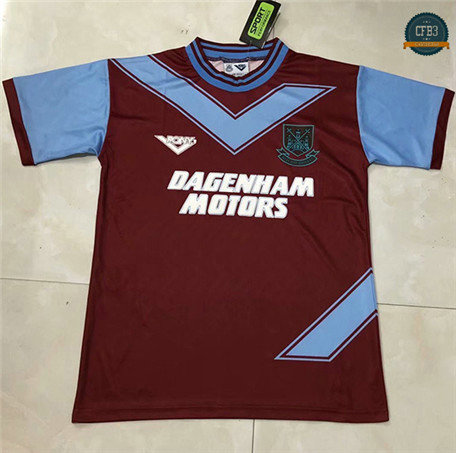 Cfb3 Camisetas Retro 1993-94 West Ham United 1ª Equipación