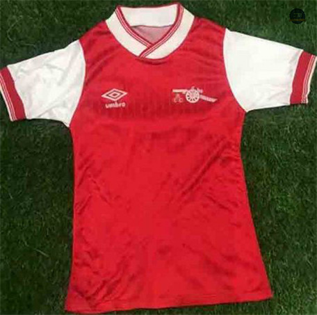 Cfb3 Camiseta Retro 1984-85 Arsenal Rojo