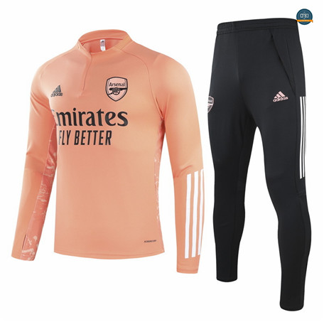 Cfb3 Chandal Champions League Arsenal Equipación Naranja 2021/2022