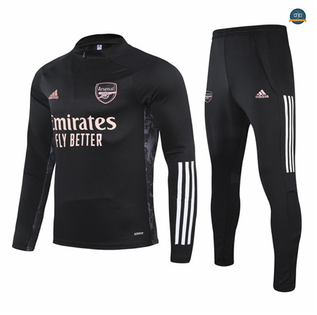 Cfb3 Chandal Champions League Arsenal Equipación Negro 2021/2022