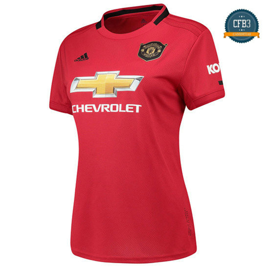 Camiseta Manchester United Mujer 1ª Equipación 2019/2020