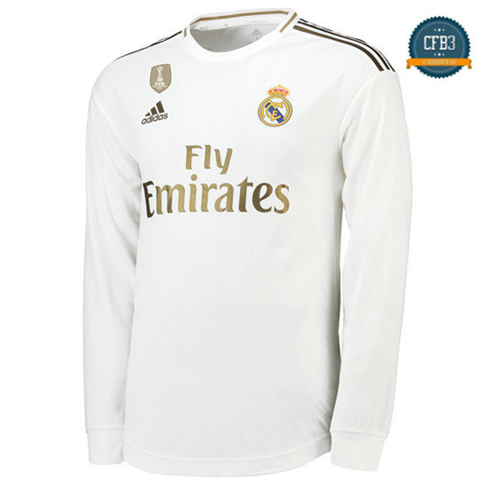 Camiseta Real Madrid 1ª Equipación Manga Larga 2019/2020