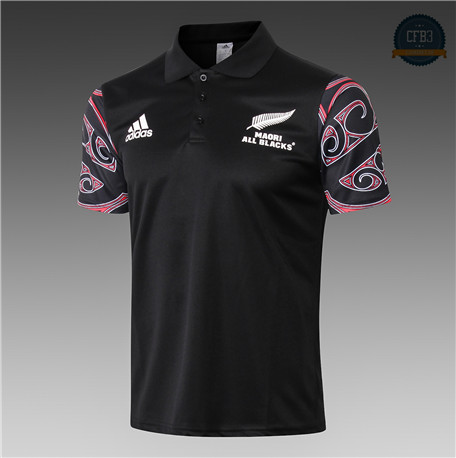 Cfb3 Camiseta Rugby All Blacks Maori polo 2019/2020