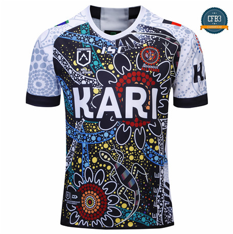 Cfb3 Camiseta Rugby Indigenous All Stars 2019/2020