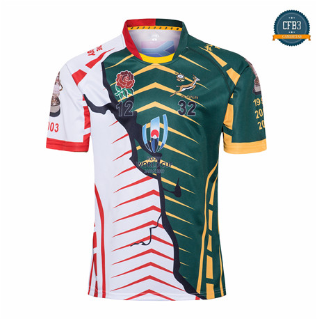 Cfb3 Camiseta Rugby Copa Mundial Champions United Edition 2019/2020