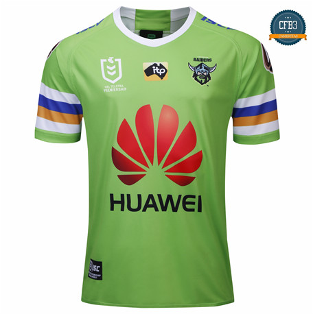 Cfb3 Camiseta Rugby Canberra Raiders 1ª 2019/2020