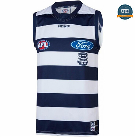 Cfb3 Camiseta Rugby AFL Geelong Cats 2019/2020