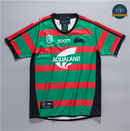 Cfb3 Camiseta Rugby NRL South Sydney Rabbitohs 1ª 2020/2021