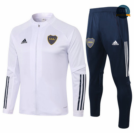 Chaqueta Chandal Boca Juniors Blanco 2020/2021
