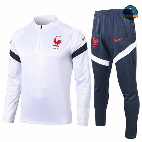 Chandal Francia Blanco 2020/2021
