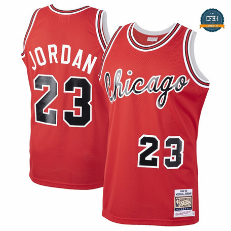 Camiseta Michael Jordan, Chicago Bulls Mitchell & Ness - 1984-85