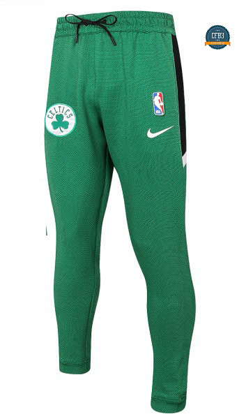 Camiseta Pantalón Thermaflex Boston Celtics - Verde