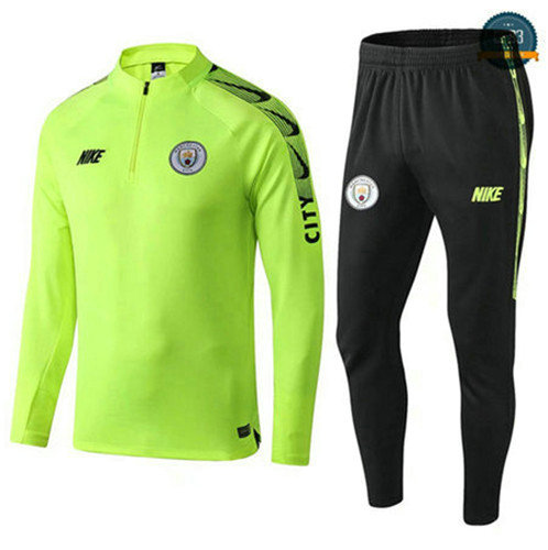Chándal Manchester city Amarillo/Verde 2019/2020