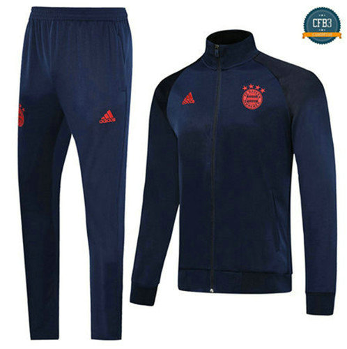 Chaqueta Chándal Manchester United Azul Oscuro/Rojo 2019/2020