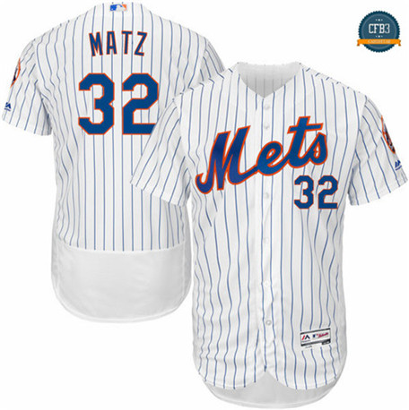 Steven Matz, New York Mets - White