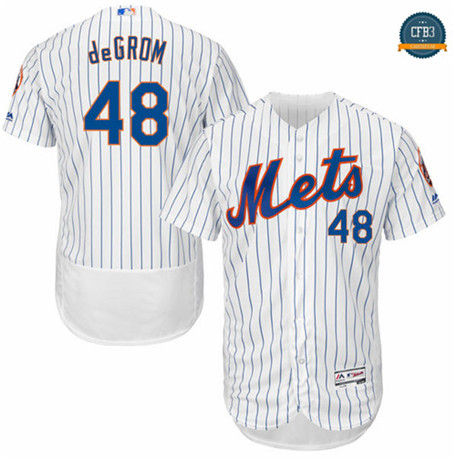 Jacob deGrom, New York Mets - White