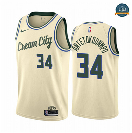Giannis Antetokounmpo, Milwaukee Bucks 2019/20 - City Edition